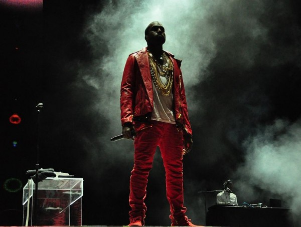 Kanye West performing at Lollapalooza on April 3, 2011 in Chile. Photo credit: rodrigoferrari